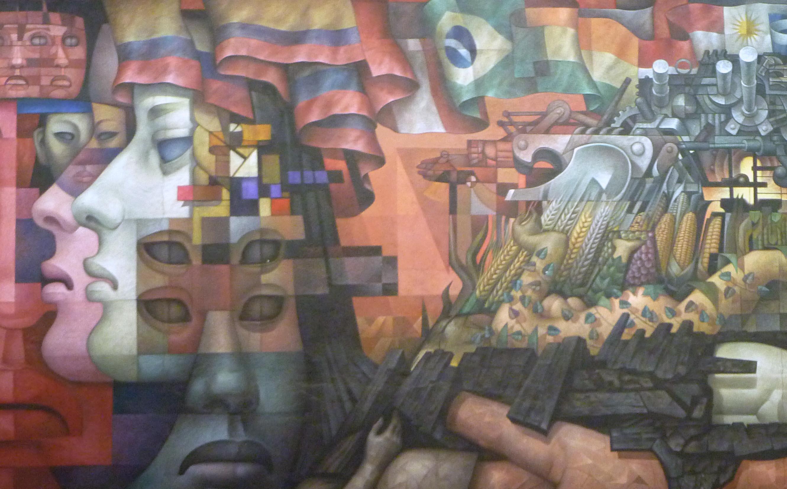 Comienzan trabajos post sismo en mural de casa del arte for Universidad de arte