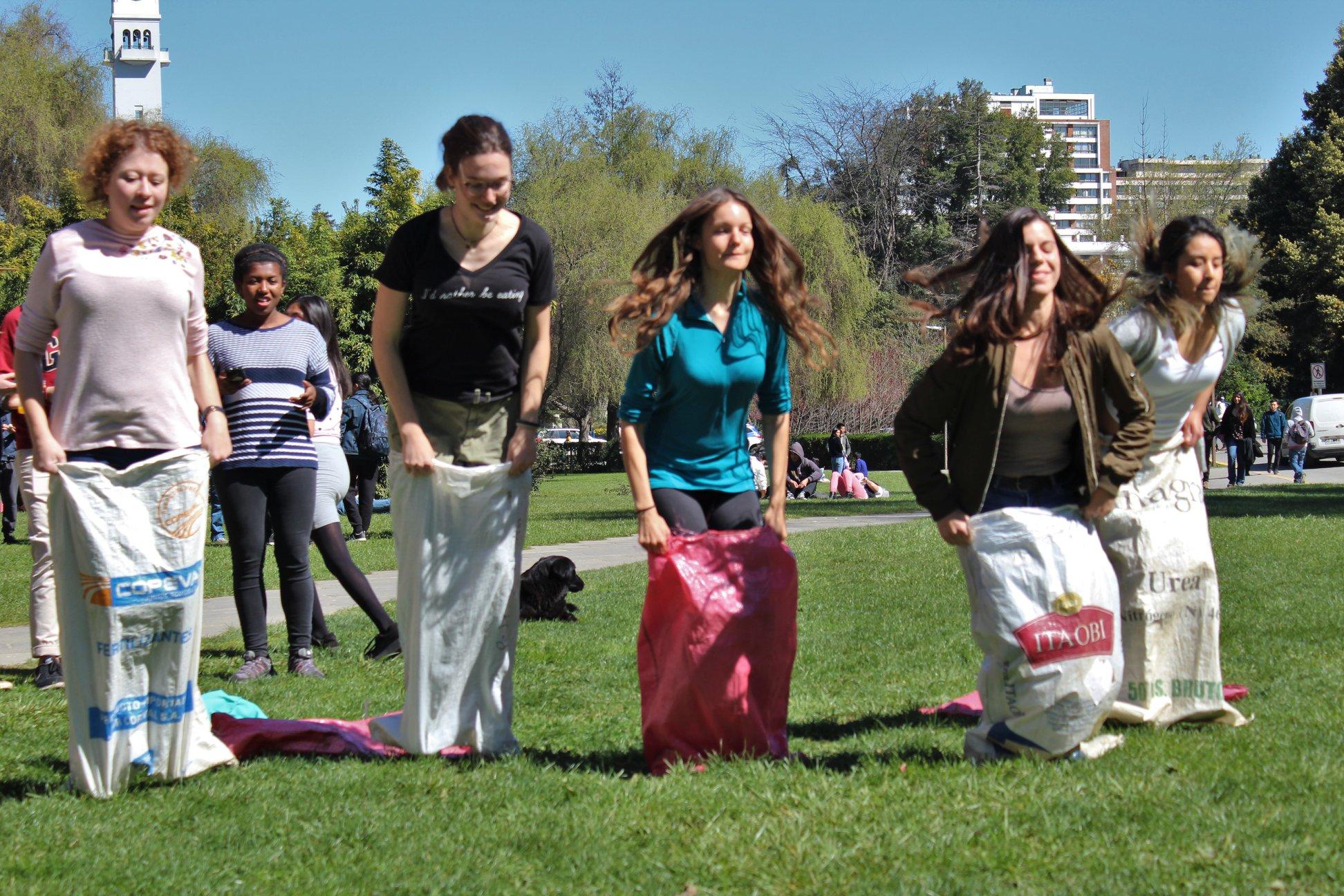 Estudiantes extranjeros de la Universidad de Concepción celebraron las Fiestas Patrias