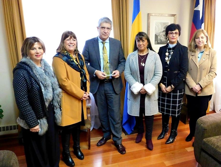 Asociación Chilena de Educación en Enfermería realiza visita protocolar a Rector