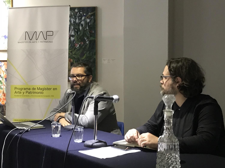 Magíster en Arte y Patrimonio realizó conferencia inaugural