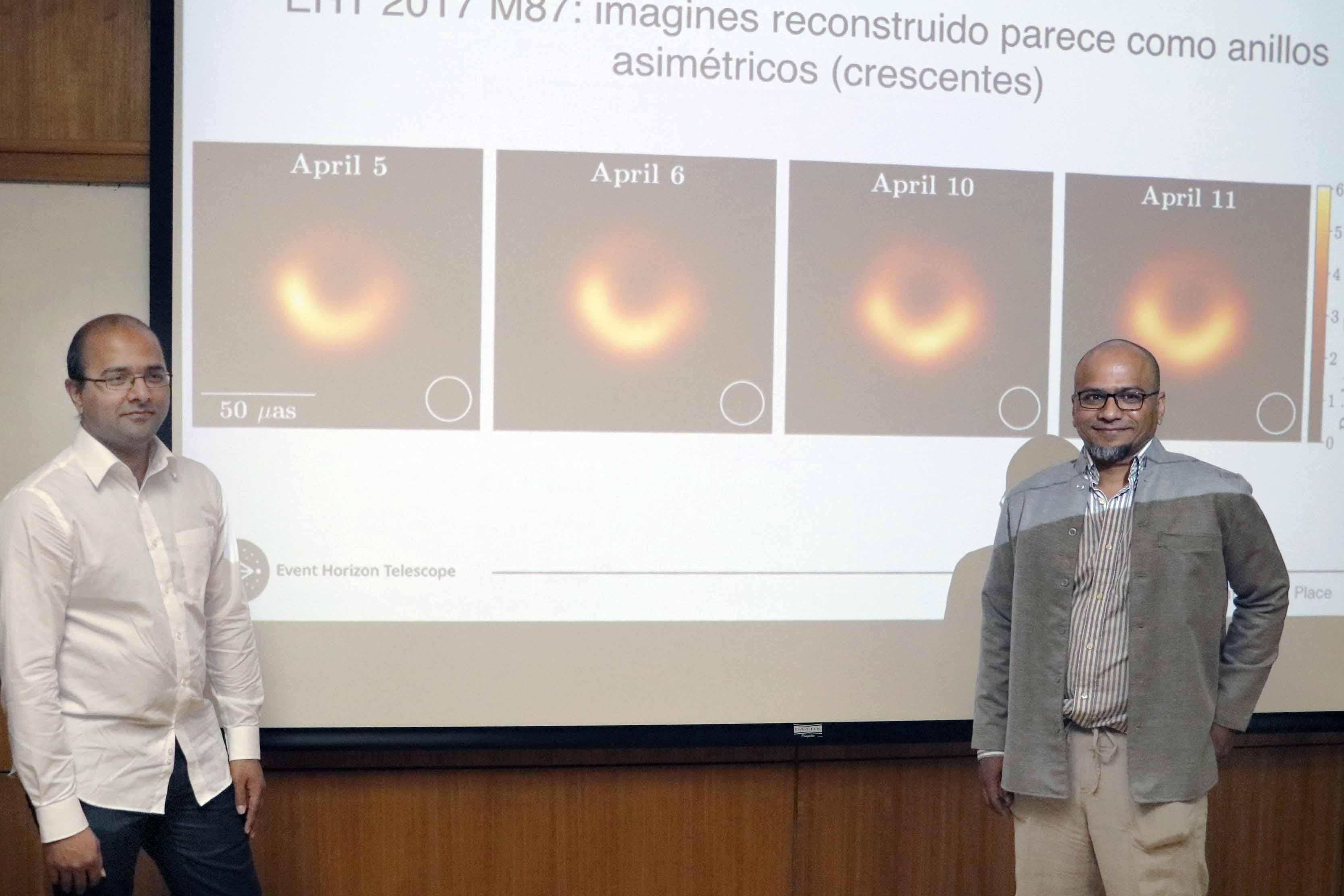 Charla de astrónomos que participaron en captura de Agujero Negro abre ciclo Café Científico 2019