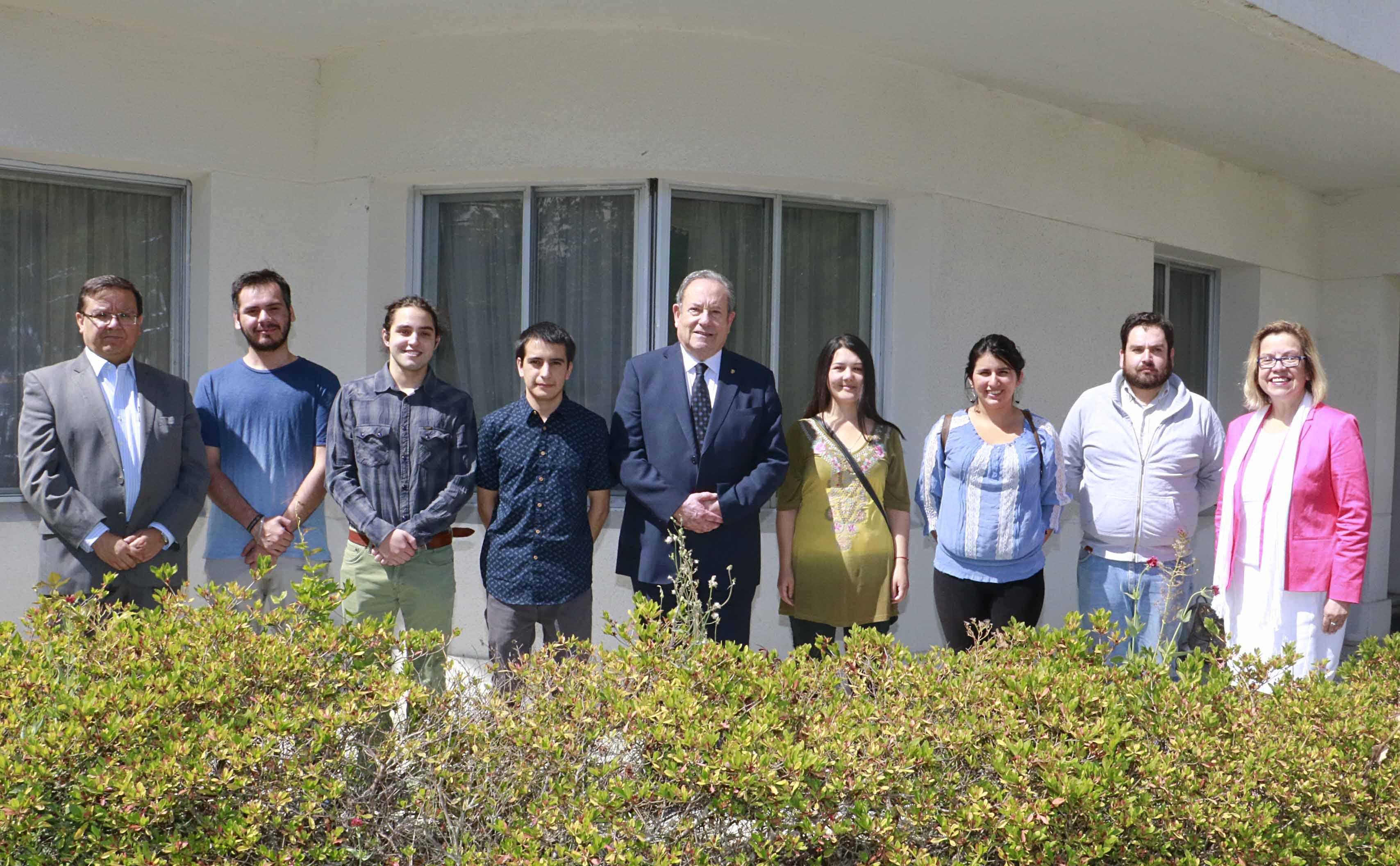 Académica de la Universidad Católica Portuguesa visitó la Universidad en el marco de Proyecto Erasmus