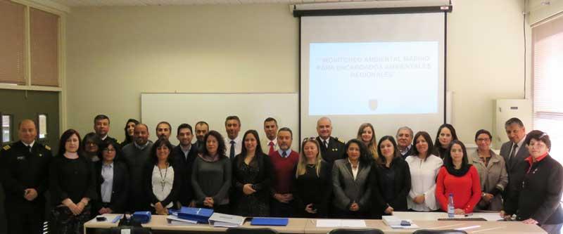 Miembros de Directemar se capacitaron en curso realizado en la Facultad de Ciencias Naturales y Oceanográficas UdeC