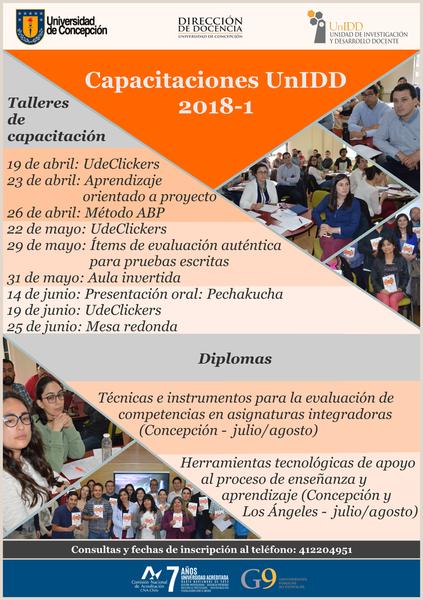 Unidd presenta programa de capacitaciones para docentes