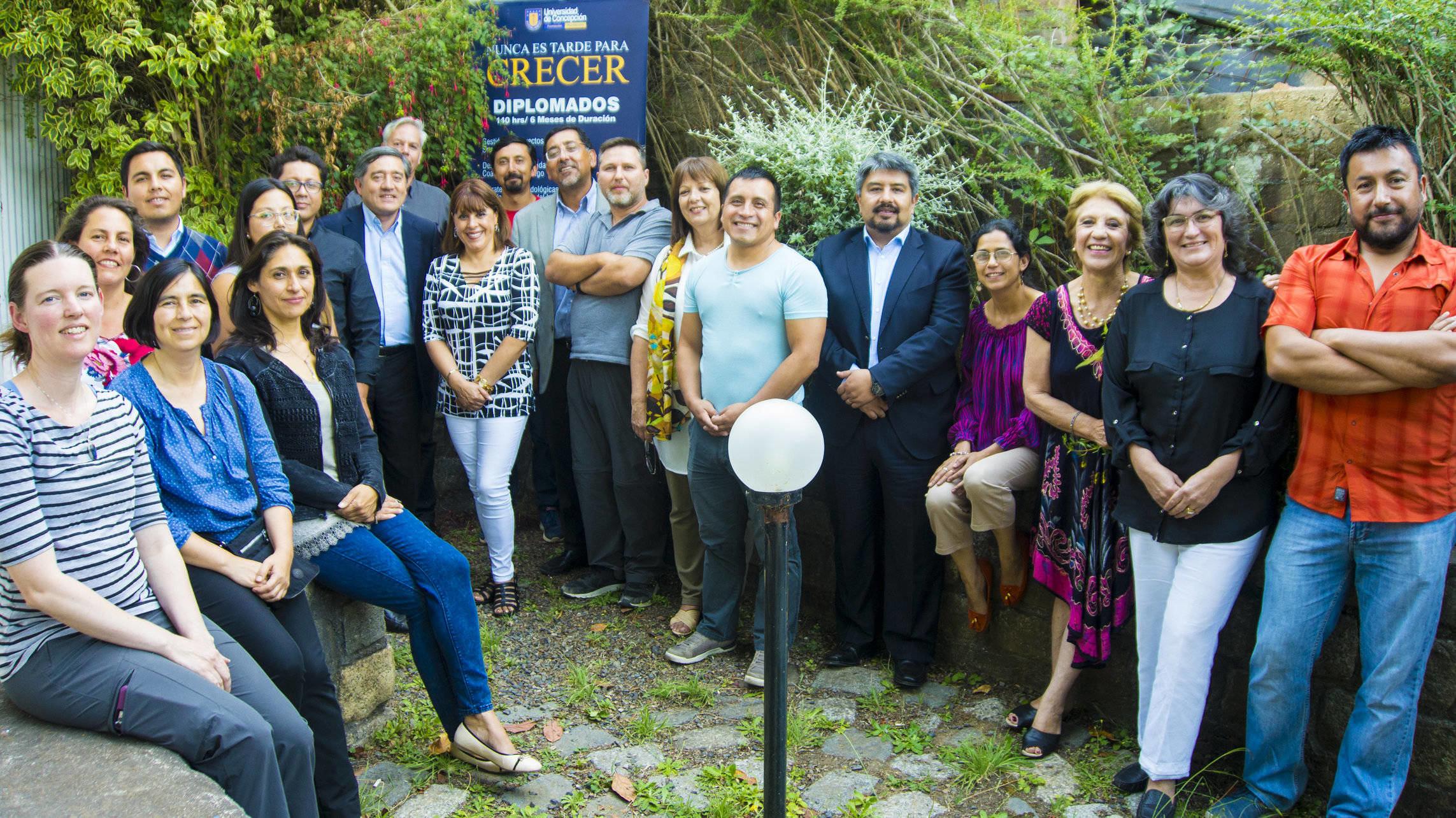 Ganadores del álbum del océano visitaron el Santuario de la Naturaleza de la Península de Hualpén