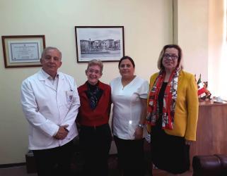 Académica de la Universidad Católica Portuguesa visitó la Facultad de Odontología
