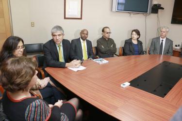 Ministro del Trabajo presentó en la UdeC proyecto de ley sobre estatuto laboral para jóvenes