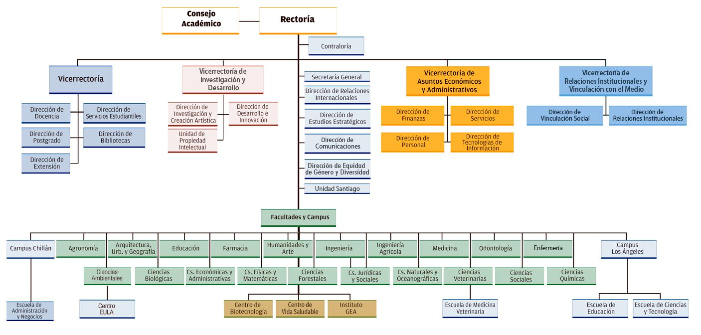 organigrama corporacion